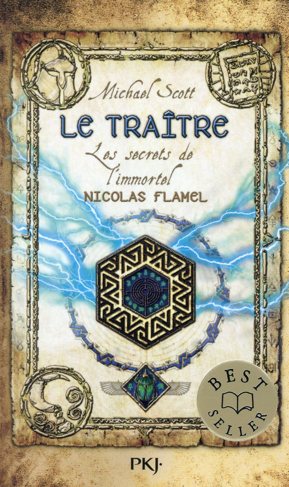 LES SECRETS DE L'IMMORTEL NICOLAS FLAMEL - TOME 5 LE TRAITRE Scott Michael Pocket jeunesse